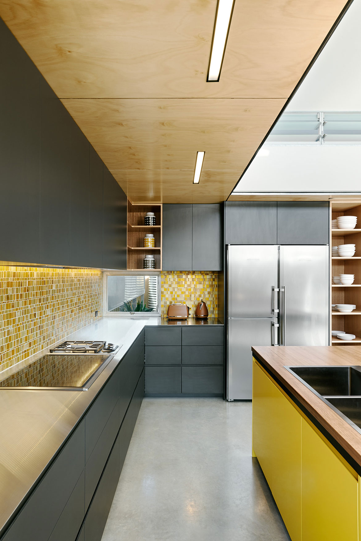 Habitus Living Laneway House Zen Architects kitchen