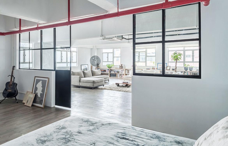 Habitus Living Lim+Lu Warehouse House interior