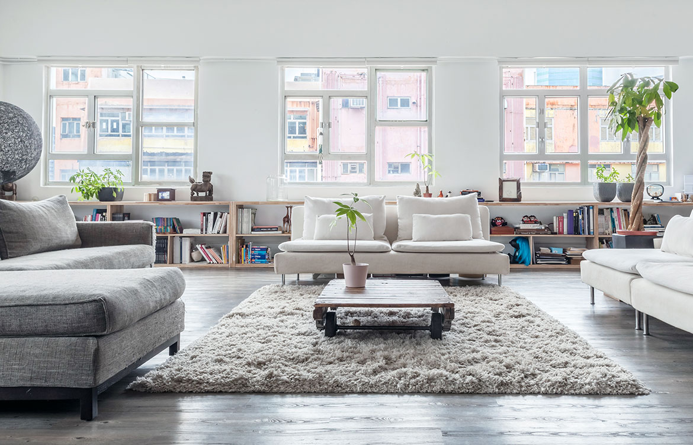 Habitus Living Lim+Lu Warehouse House living room