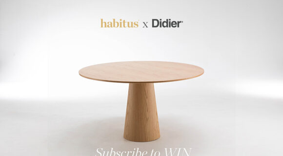Subscribe to Habitus For Your Chance to Win A Didier Liqueur Table