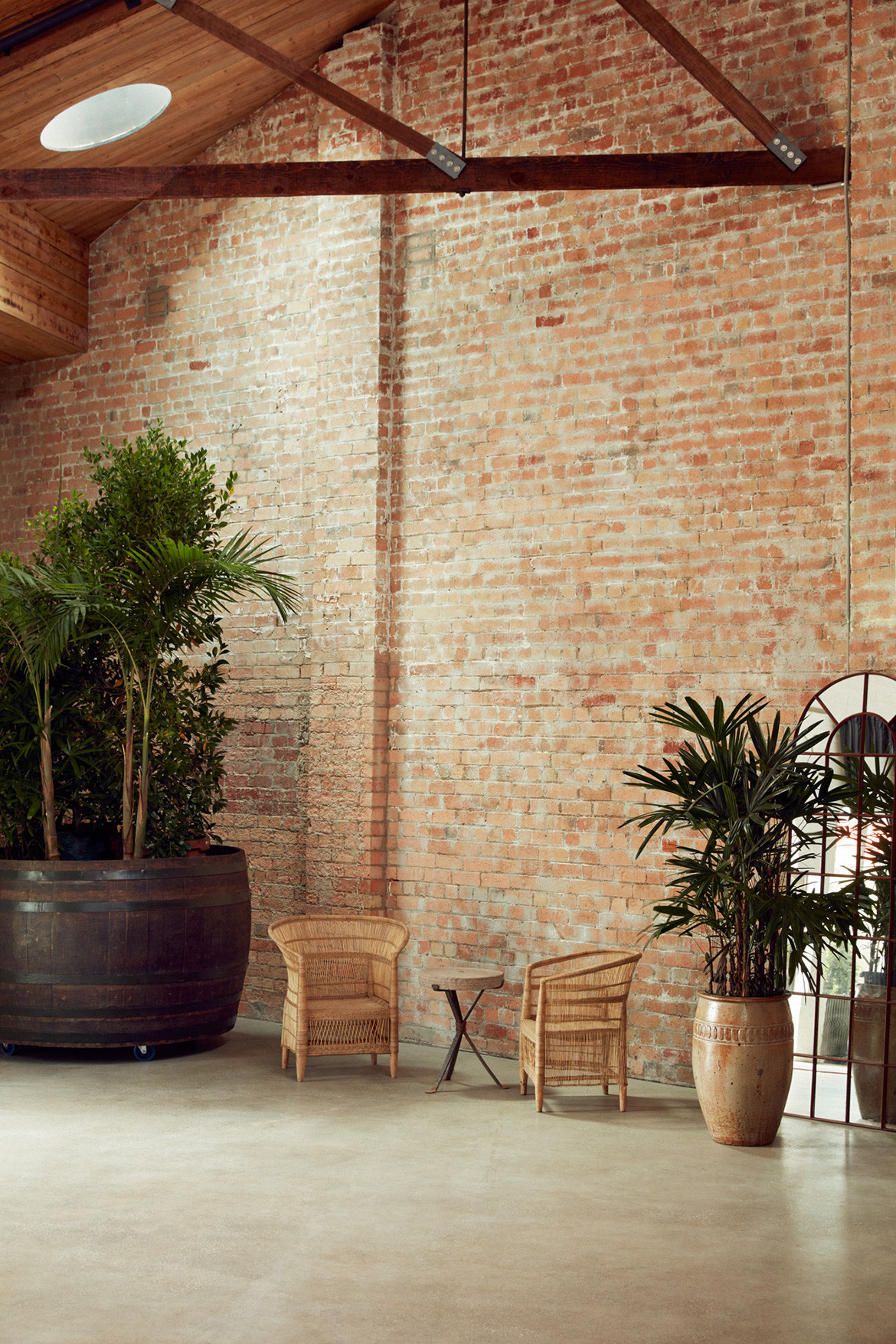 Half Acre Adam Leigh Asaf Studio Pasquale CC Tom Ross exposed brick and timber