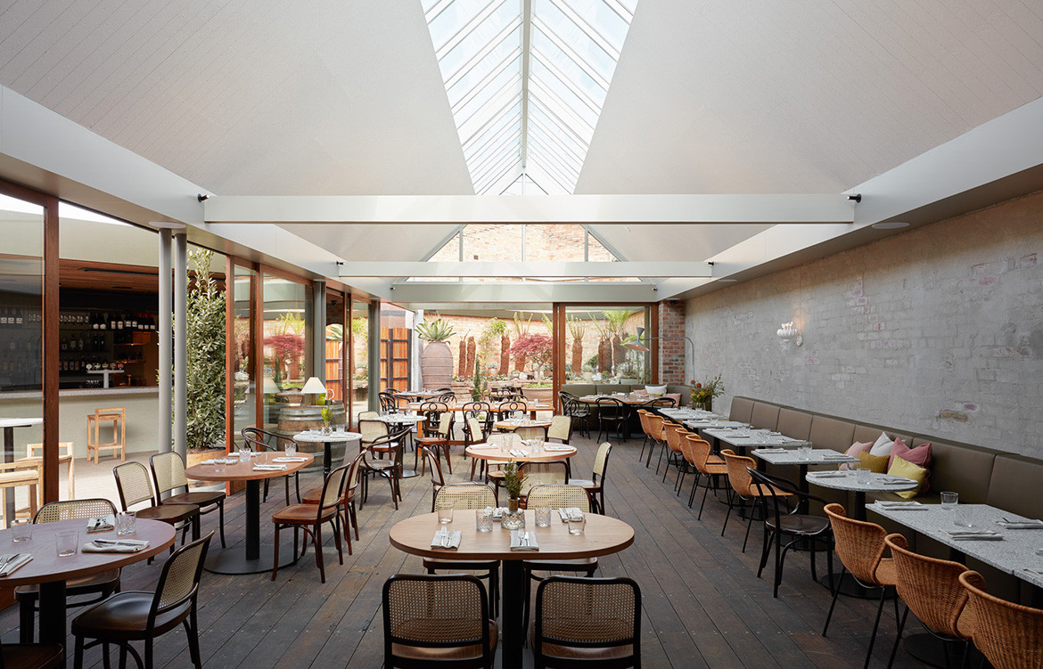 Half Acre Adam Leigh Asaf Studio Pasquale CC Tom Ross main dining space natural light