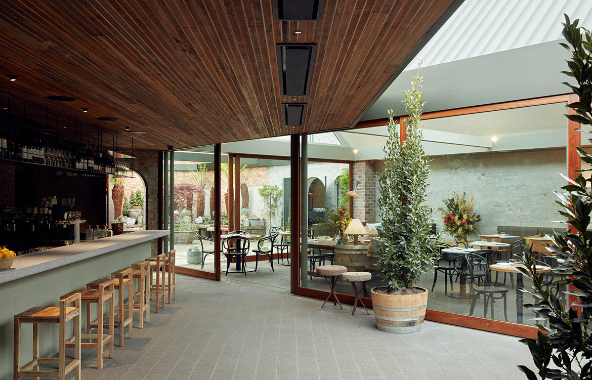 Half Acre Adam Leigh Asaf Studio Pasquale CC Tom Ross natural light dining area