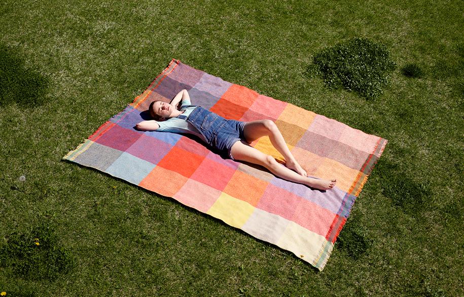 Handwoven-blanket--Squares