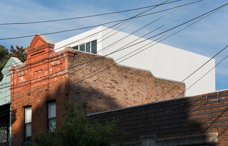 Hastings Van Nunen Ian Moore Architects CC Daniel Mayne facade