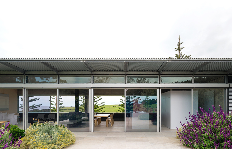 Haxstead Garden House Tobias Partners NSW open plan cross ventilation