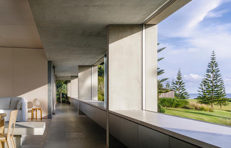 Haxstead Garden House Tobias Partners NSW corridor