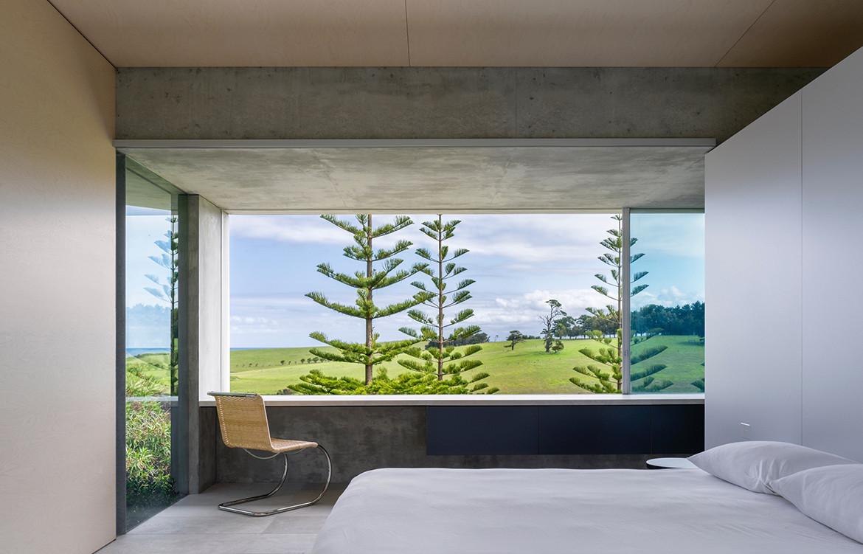 Haxstead Garden House Tobias Partners NSW bedroom views