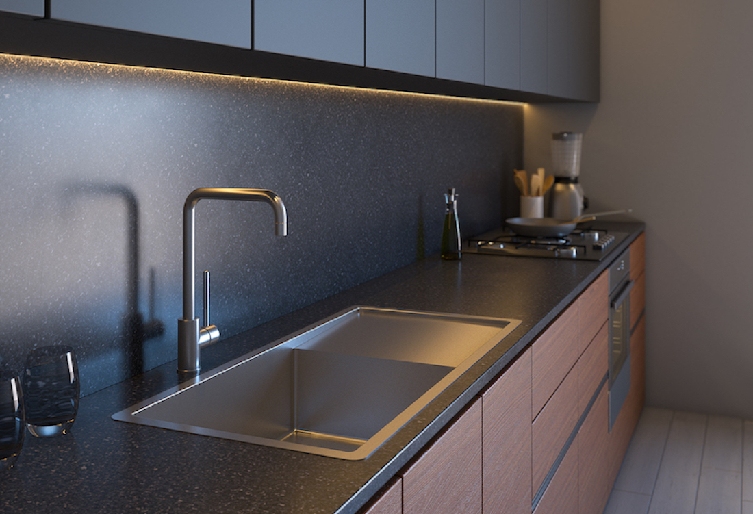 Buildmat kitchen sink