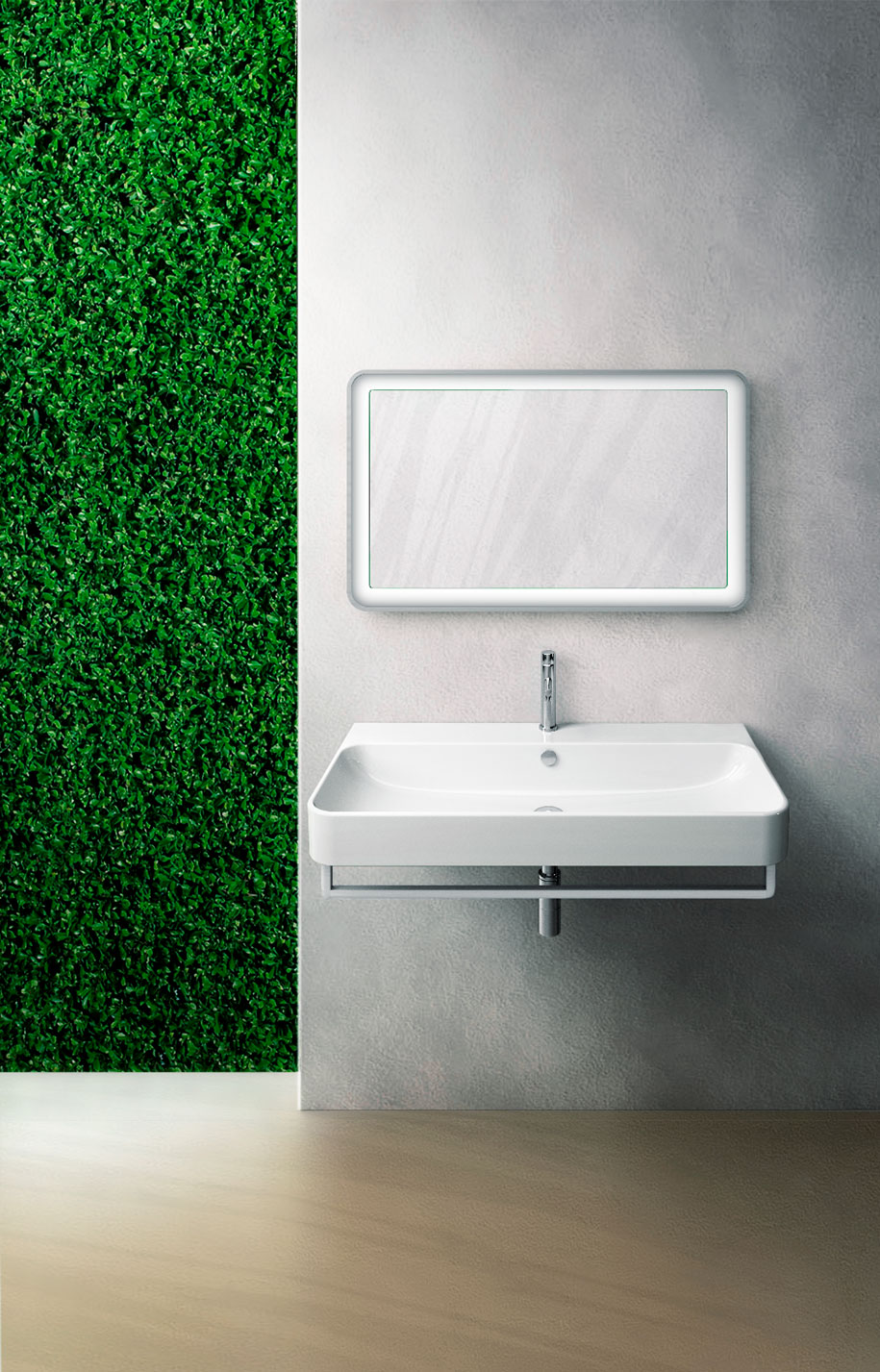 Placing Green Sustainability In The Bathroom Habitus Living