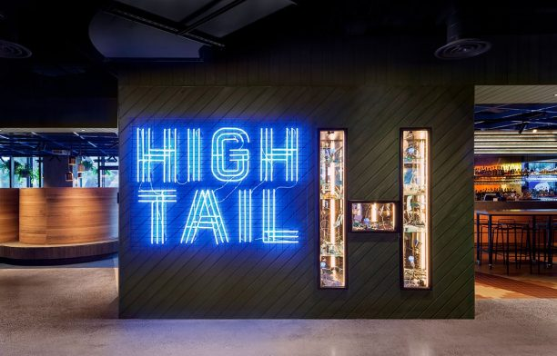 Hightail Bar Techne Photography by Charlie Kinross Signage