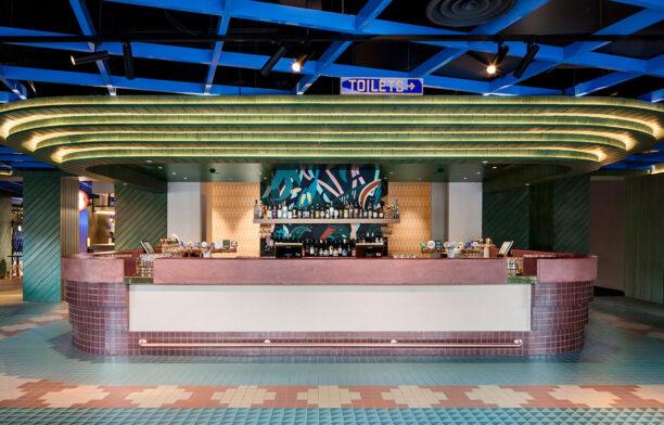 Hightail Bar Docklands Techne Nick Travers bar