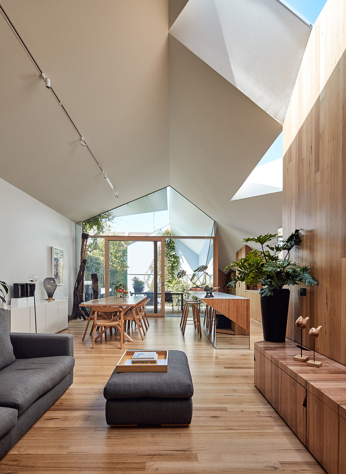 His & Hers House FMD Architects CC Derek Swalwell open plan living