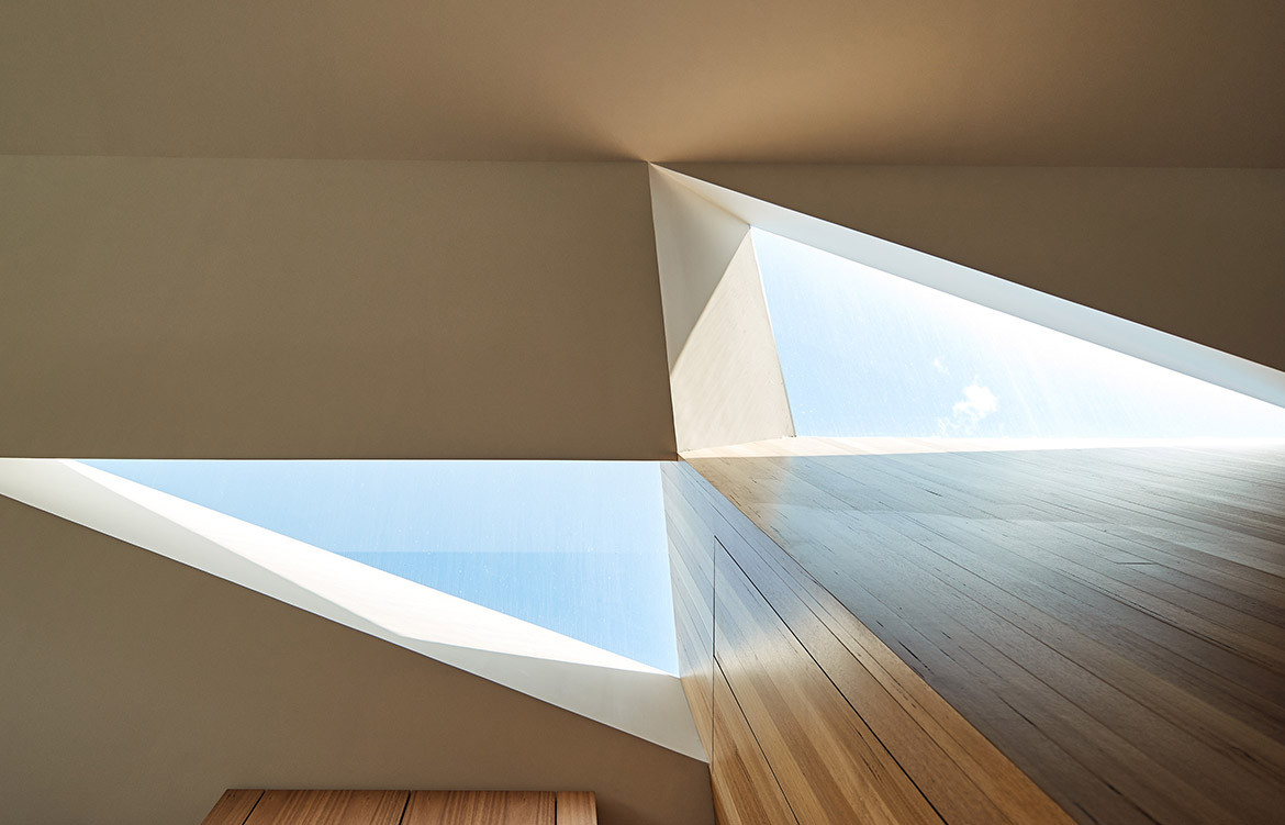 His & Hers House FMD Architects CC Derek Swalwell skylight