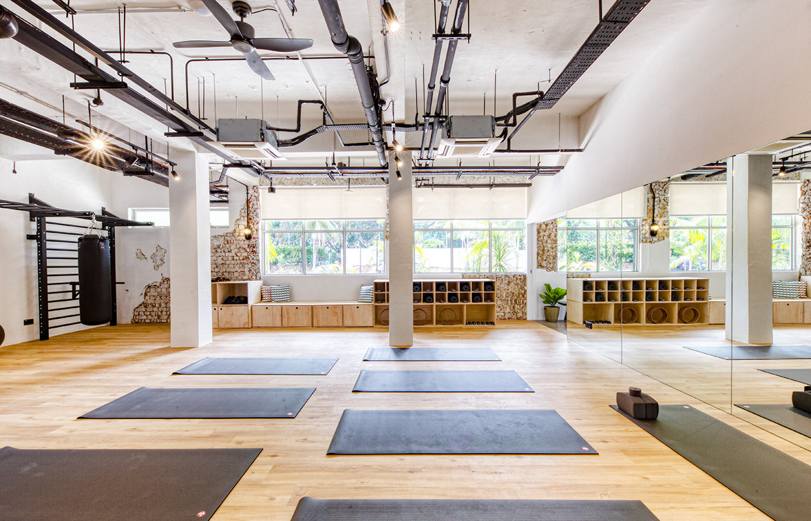 Co-living in Singapore | Yoga and wellness studio at Hmlet, Cantonment