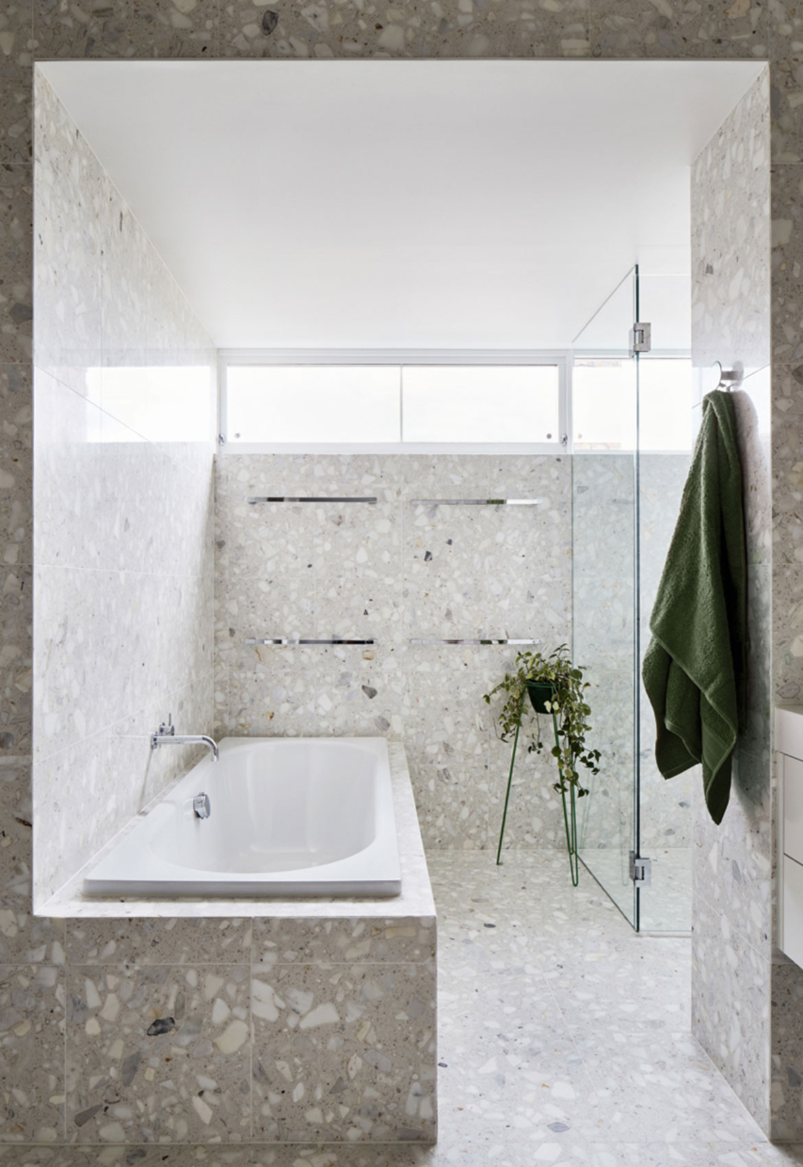Holroyd Court Foomann Architects cc Willem Dirk du Toit bathroom