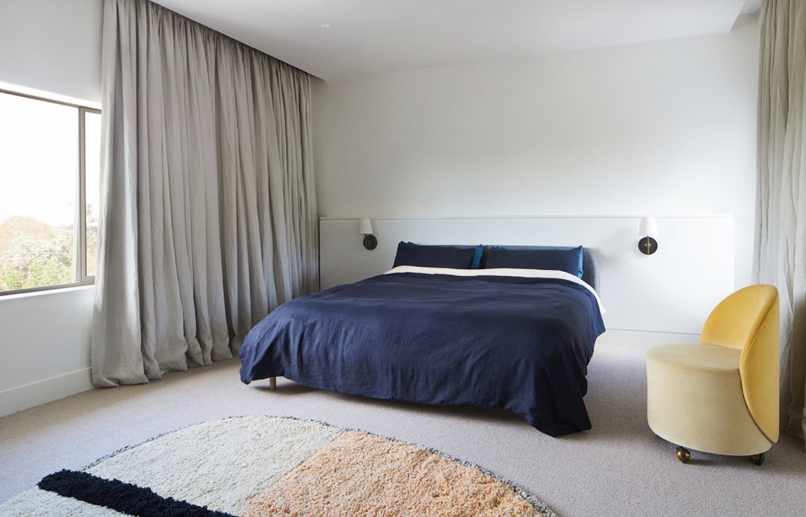 Holroyd Court Foomann Architects cc Willem Dirk du Toit bedroom