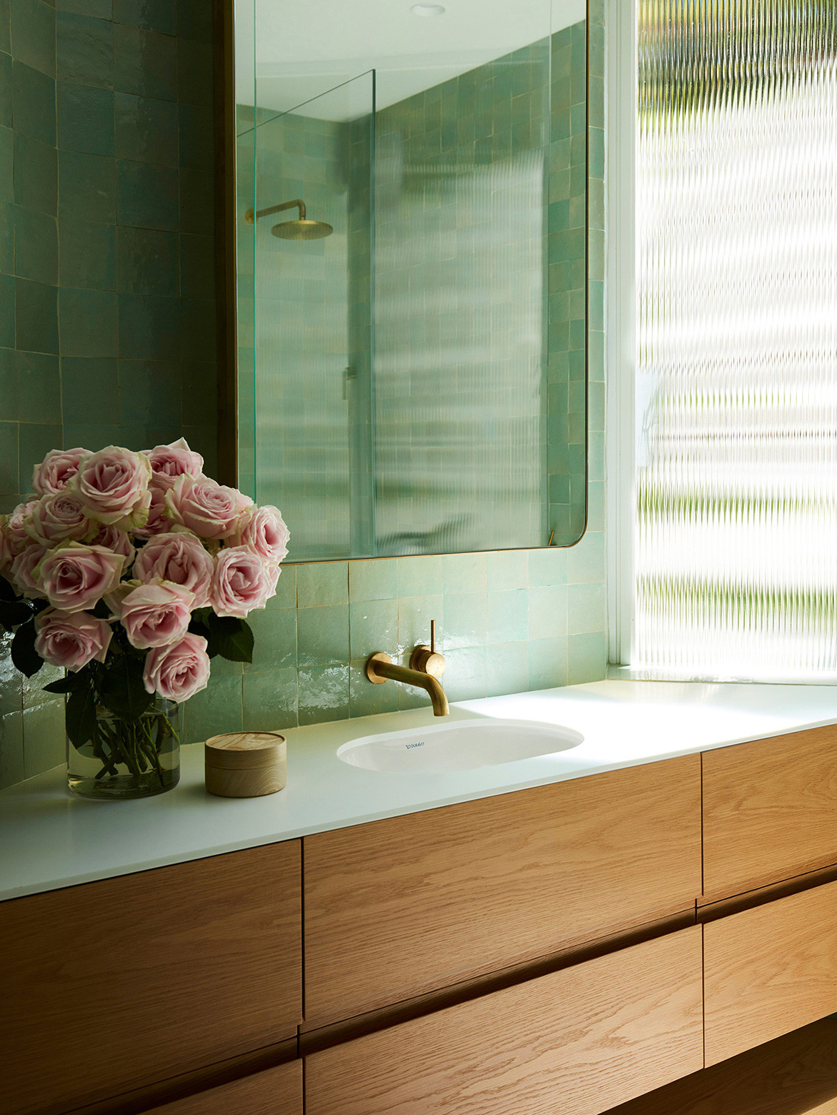 Homage to Oscar Luigi Rosselli Architects cc Prue Ruscoe | bathroom vanity