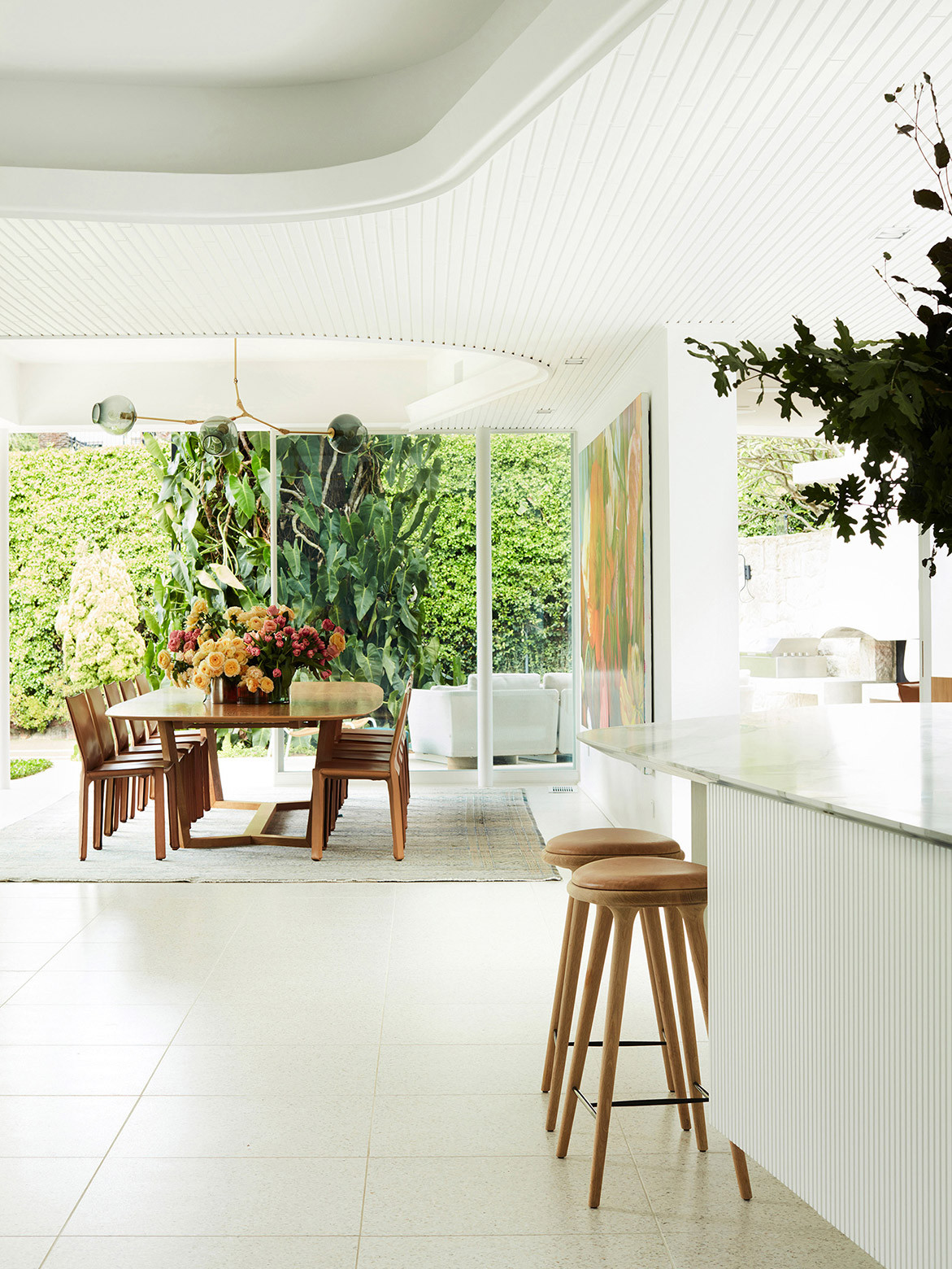 Homage to Oscar Luigi Rosselli Architects cc Prue Ruscoe | kitchen & dining