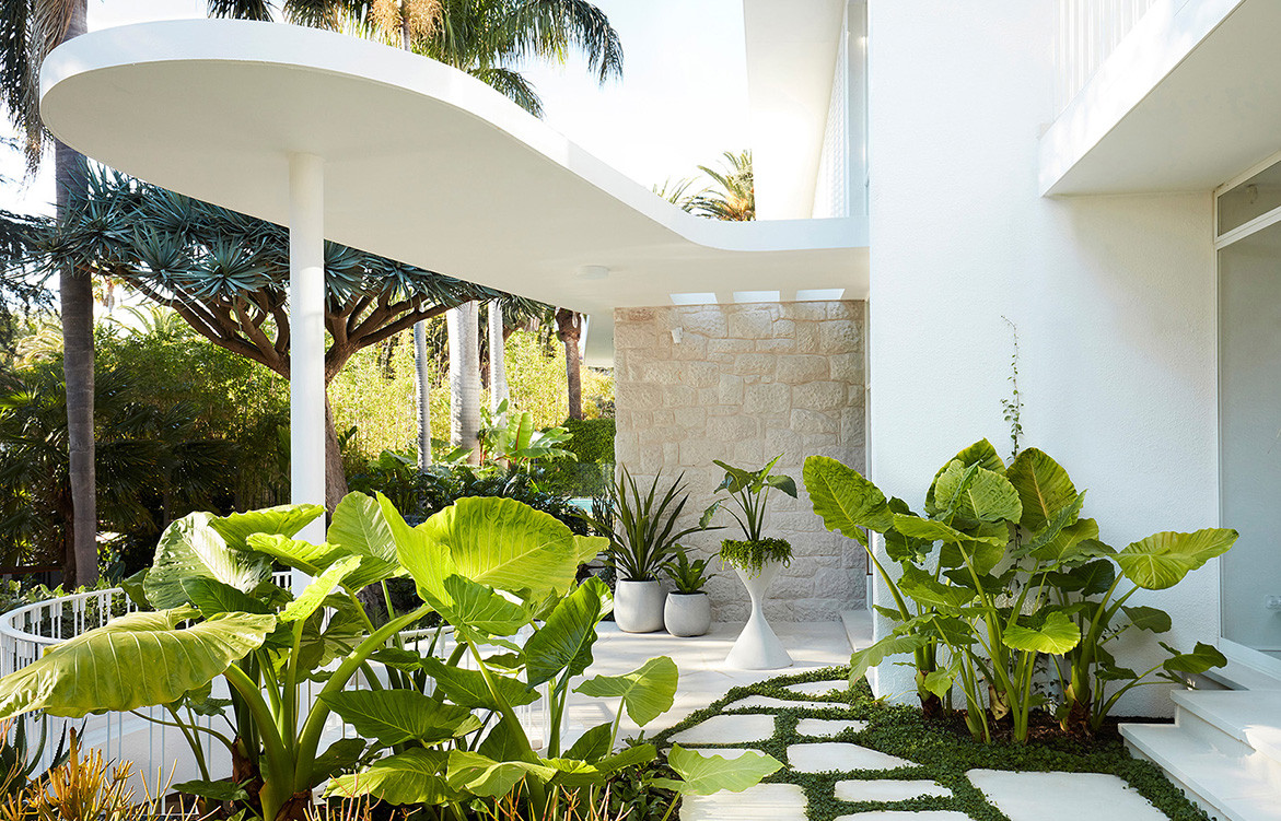 Homage to Oscar Luigi Rosselli Architects cc Prue Ruscoe | garden & landscape