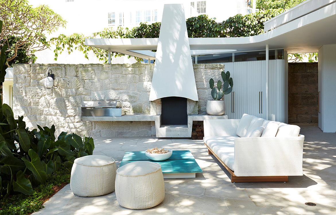 Homage to Oscar Luigi Rosselli Architects cc Prue Ruscoe | outdoor bbq