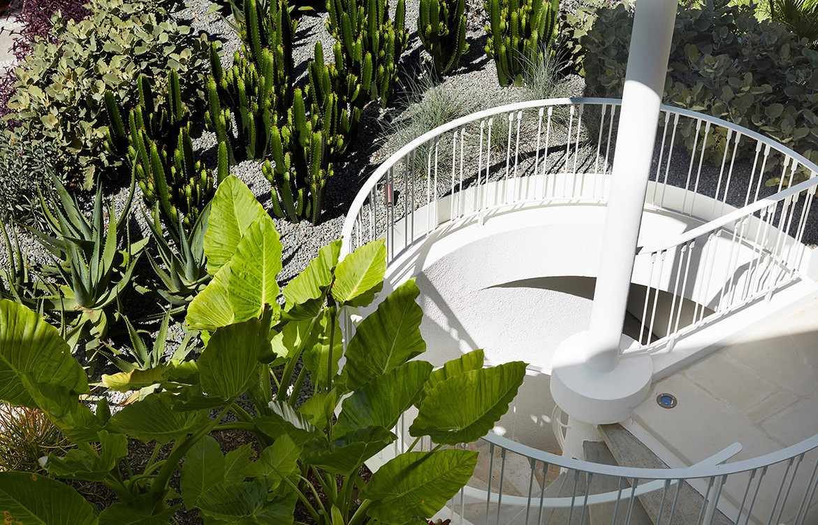 Homage to Oscar Luigi Rosselli Architects cc Prue Ruscoe | spiral staircase