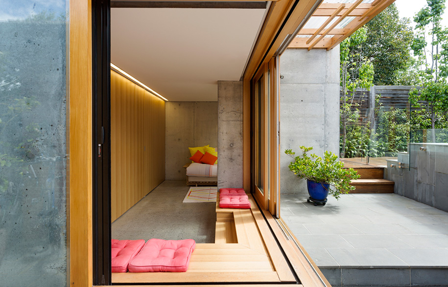 Japanese Home Office Intended Converted Single Car Garagecumhome Office By Ande Bunbury Architects Takes Inspiration From Japanese Architecture To Become Multidimensional Space For Thinking Big When Working Small Habituslivingcom