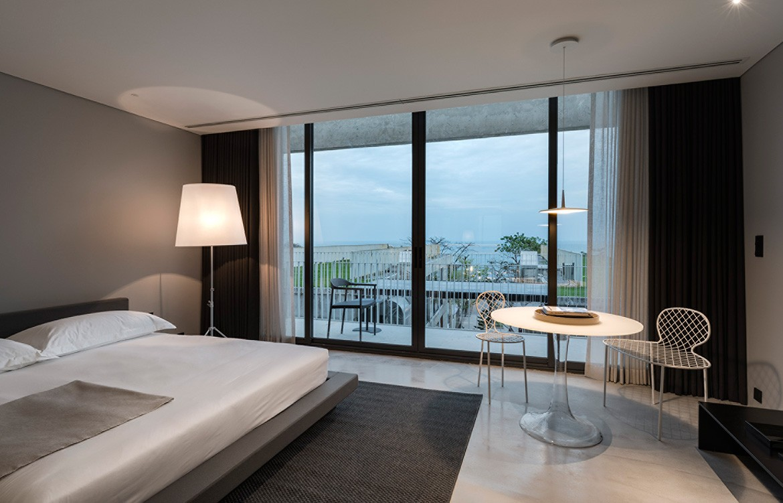 Hotel Bocage Duangrit Bunnag bedroom