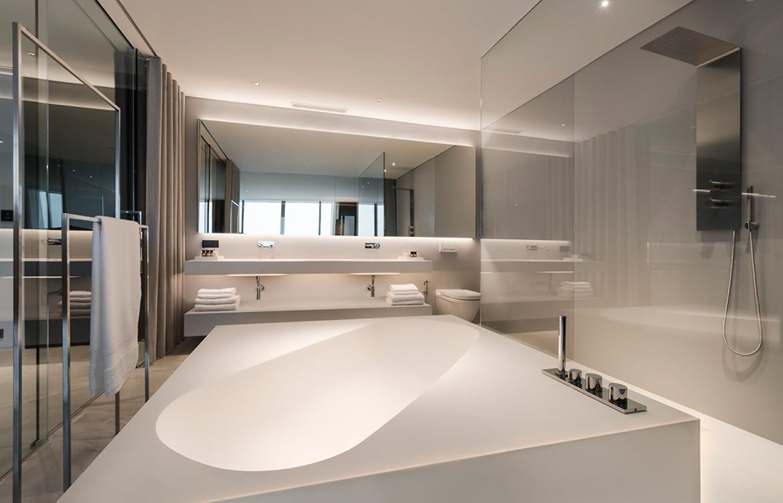 Hotel Bocage Duangrit Bunnag freestanding bathtub