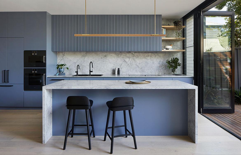 House 184 Blank Canvas Architects CC Tatjana Plitt Kitchen Bench