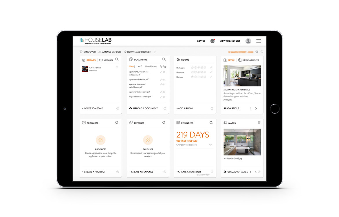 HouseLab Launches Defect Management Tool | iPad