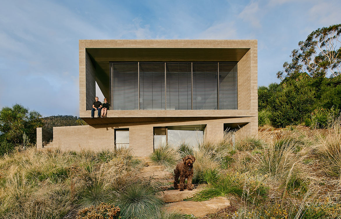 The Bold And Beautiful Think Brick Awards | House at Otago Bay by Topology Studio