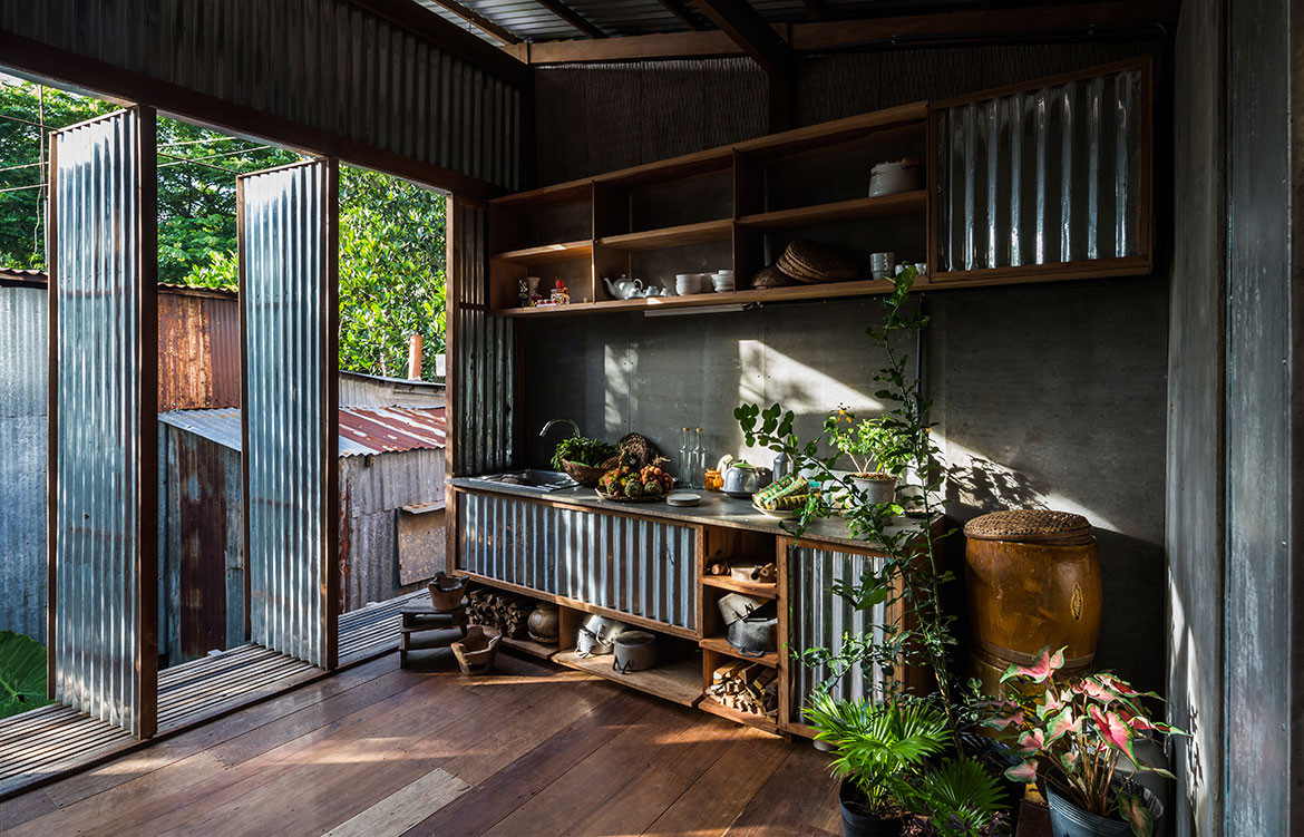House in Chau Doc NISHIZAWAARCHITECTS living space