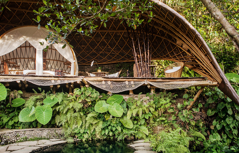 IBUKU Bali Moon House Bamboo