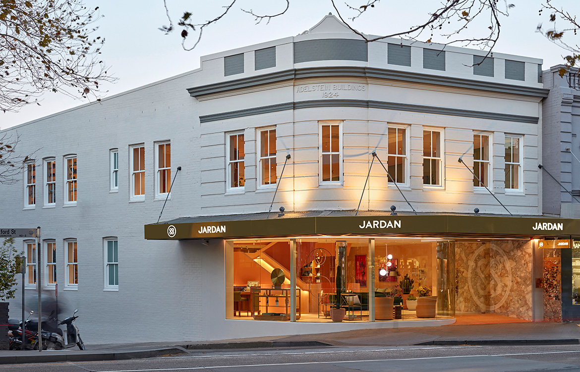 IF Architecture Jardan Sydney Flagship exterior