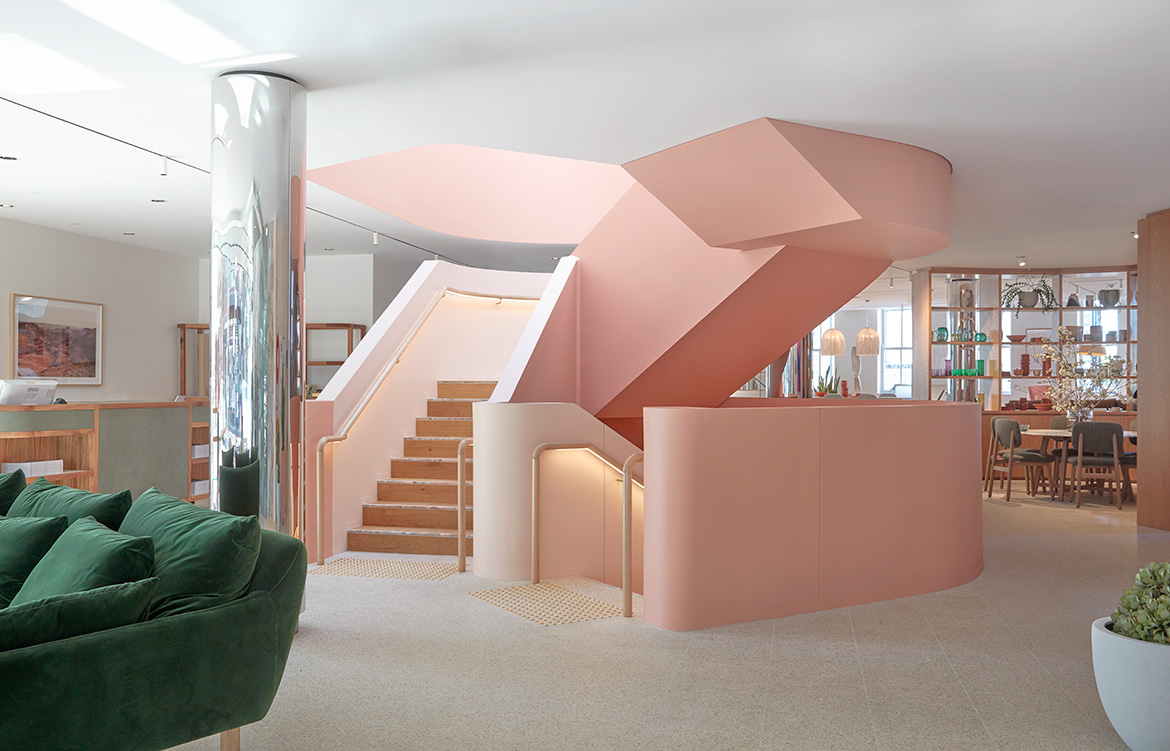 IF Architecture Jardan Sydney Flagship interior
