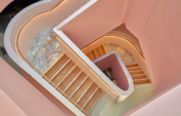 IF Architecture Jardan Sydney Flagship staircase