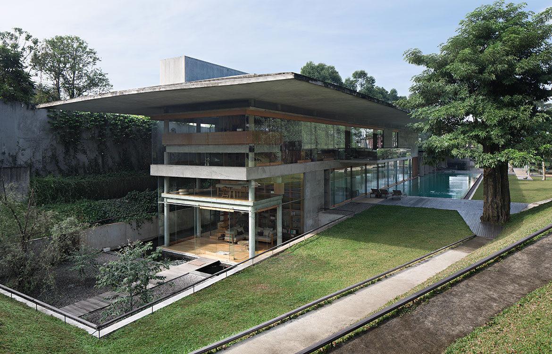IH Residence Andra Matin CC Mario Wibowo glass facade