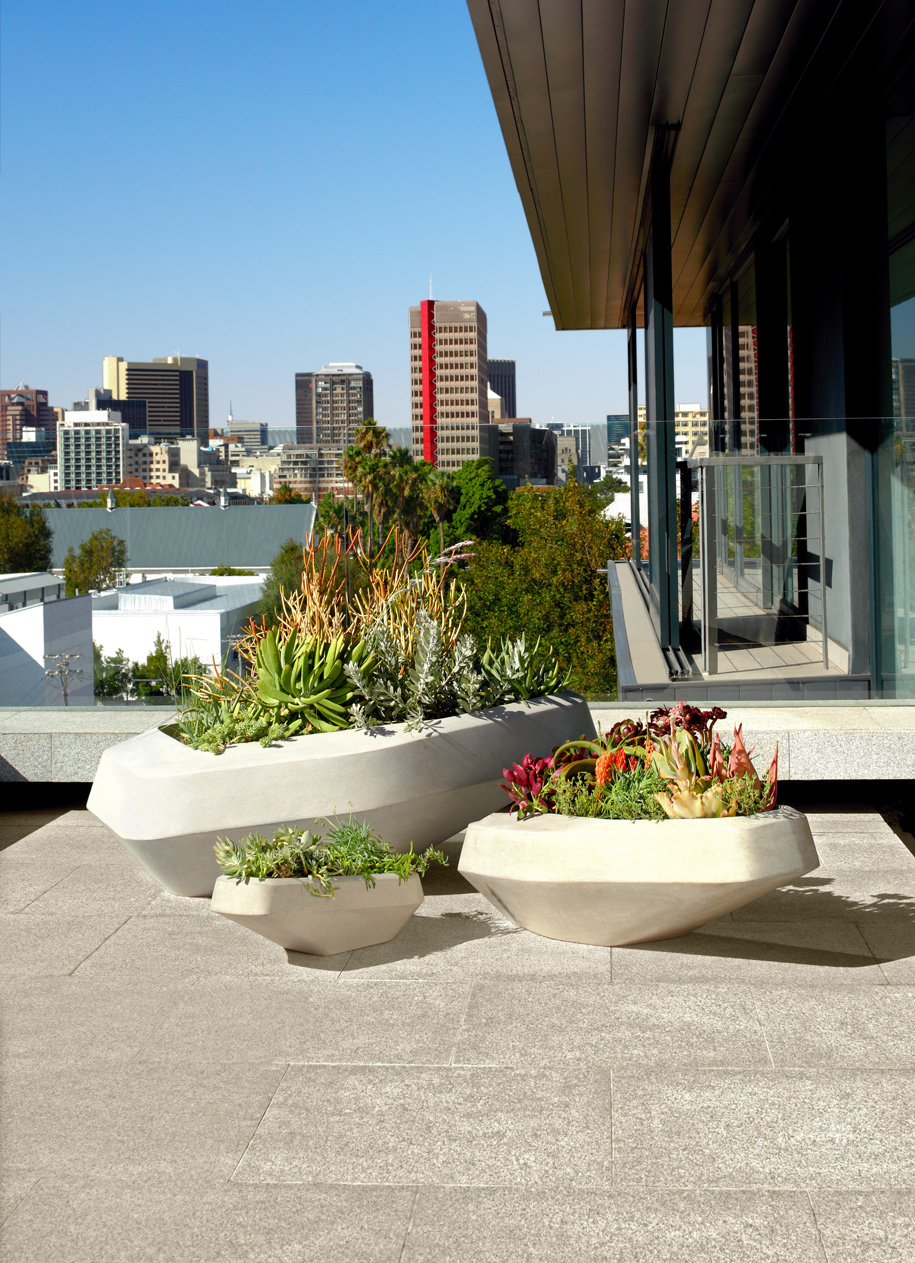 Steen Planters on Habitus Living