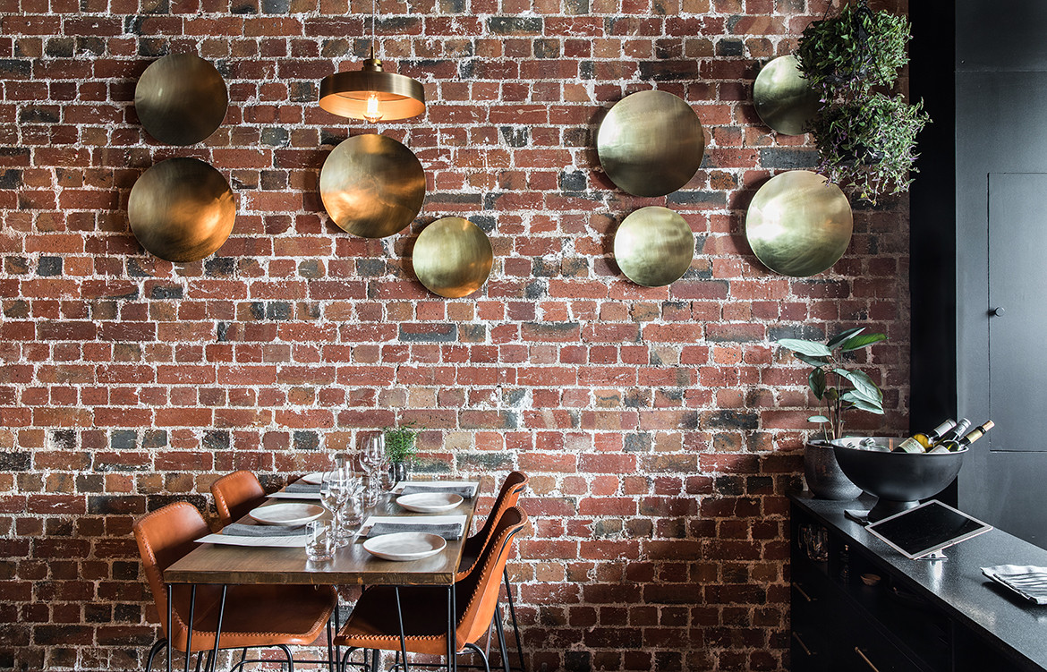ISH Restaurant Melbourne Annu Bain CC Rhiannon Taylor contemporary rustic aesthetic interior seating decoration details