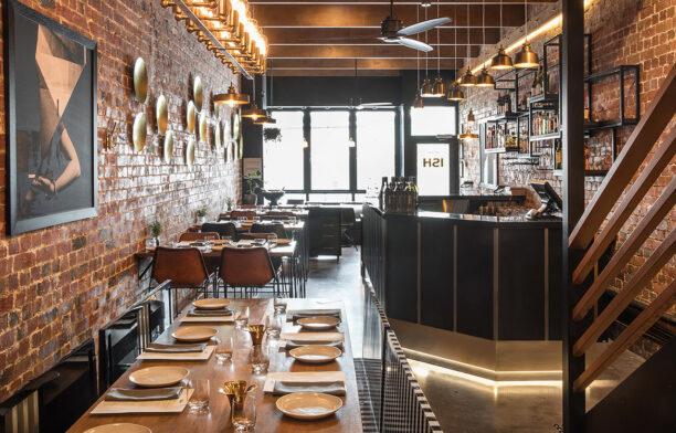 ISH Restaurant Melbourne Annu Bain CC Rhiannon Taylor dining seats