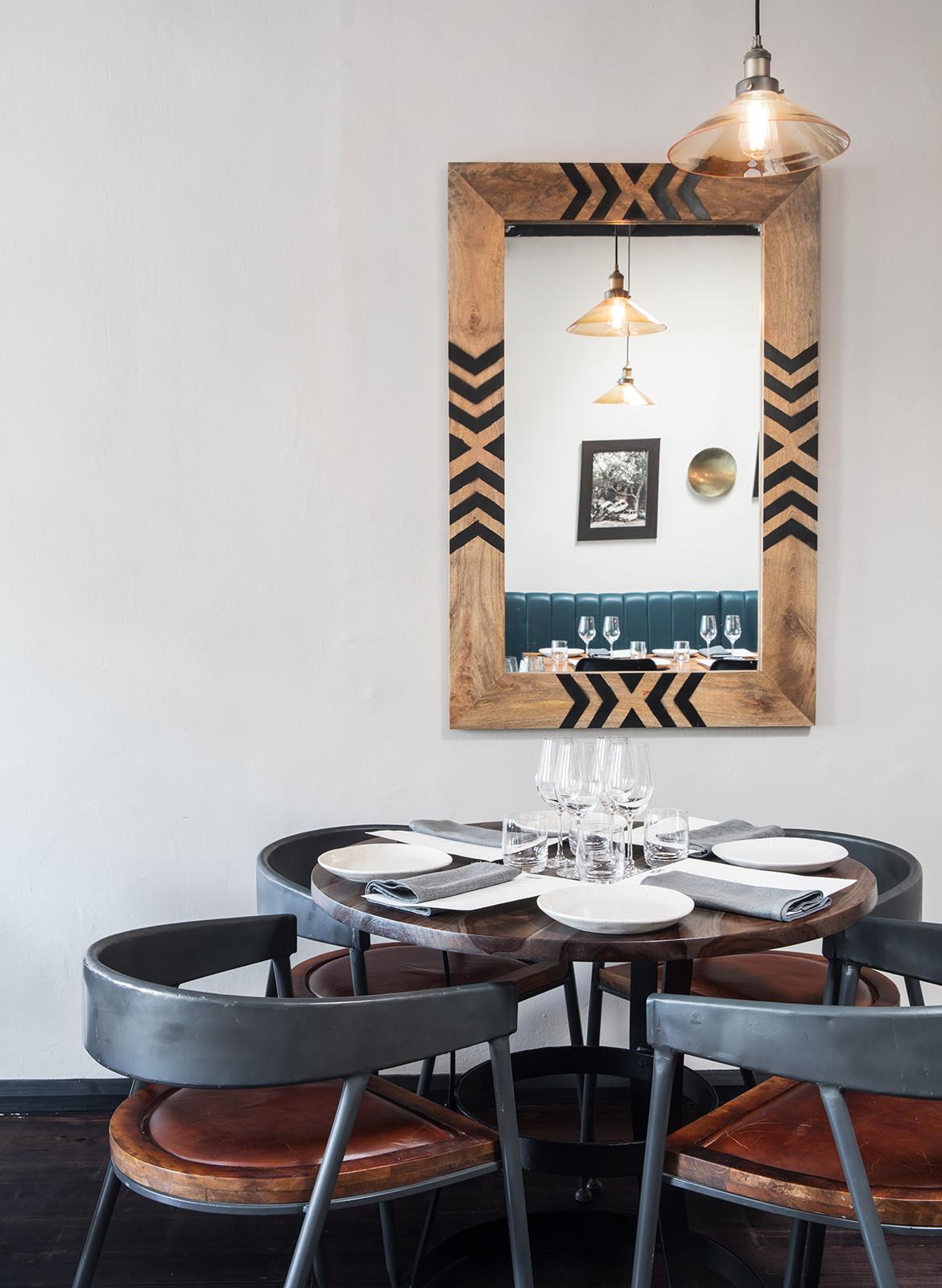 ISH Restaurant Melbourne Annu Bain CC Rhiannon Taylor fine dining material palette
