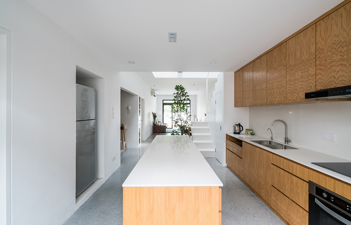 Jose House Fabian Tan Architects kitchen