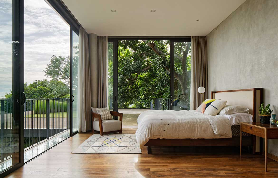 Inside Out House Tamara Wibowo Architects cc Fernando Gomulya bedroom