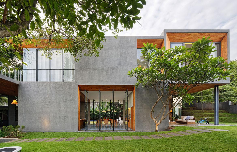 Inside Out House Tamara Wibowo Architects cc Fernando Gomulya exterior