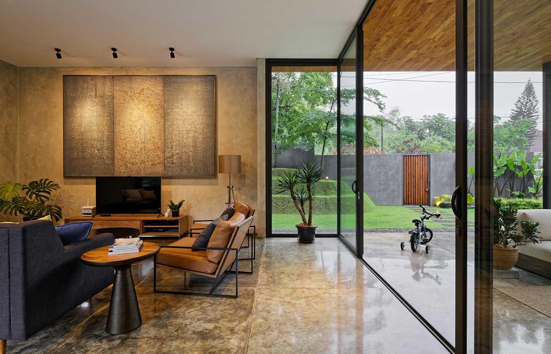 Inside Out House Tamara Wibowo Architects cc Fernando Gomulya lounge room