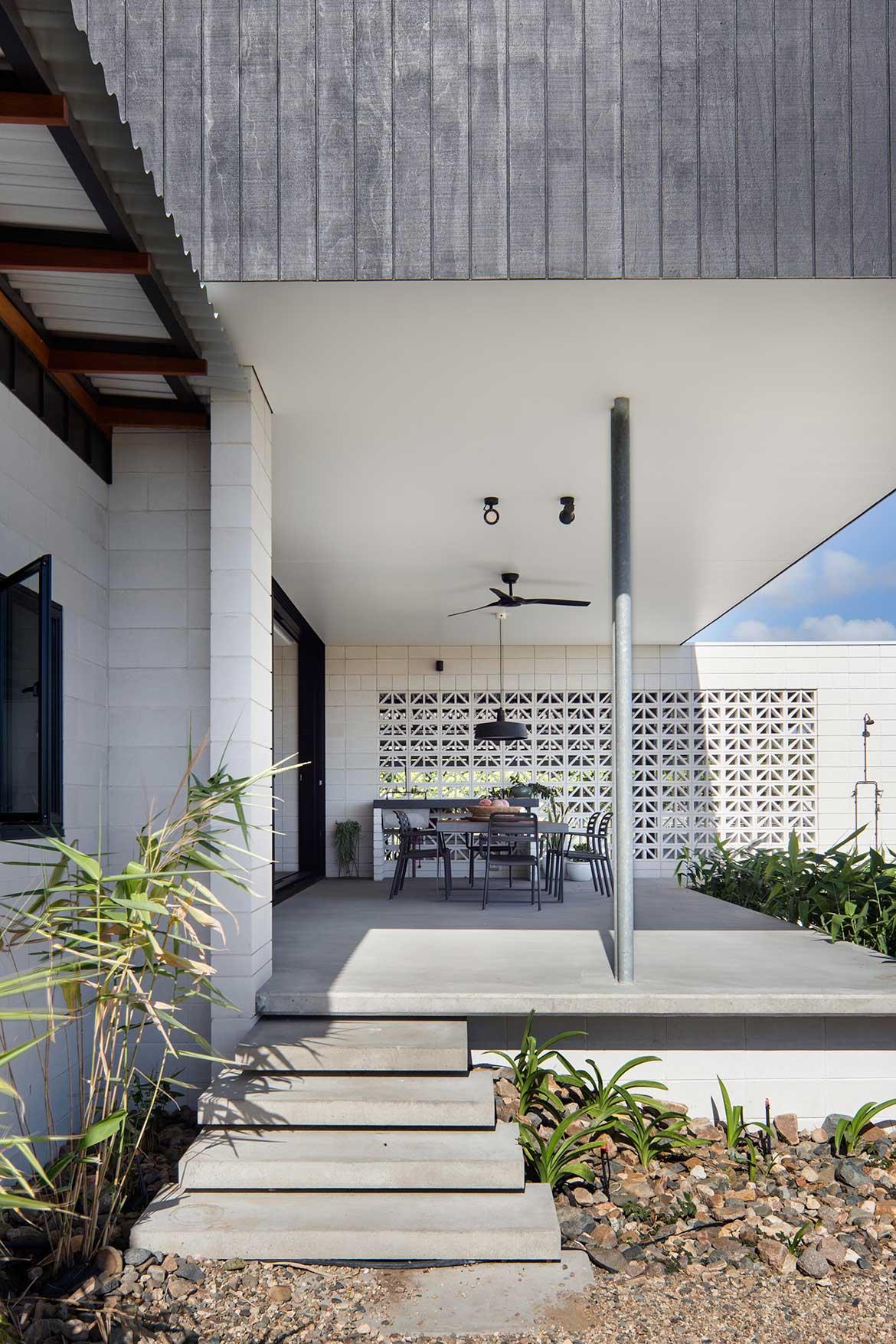 Inverdon House Chloe Naughton veranda