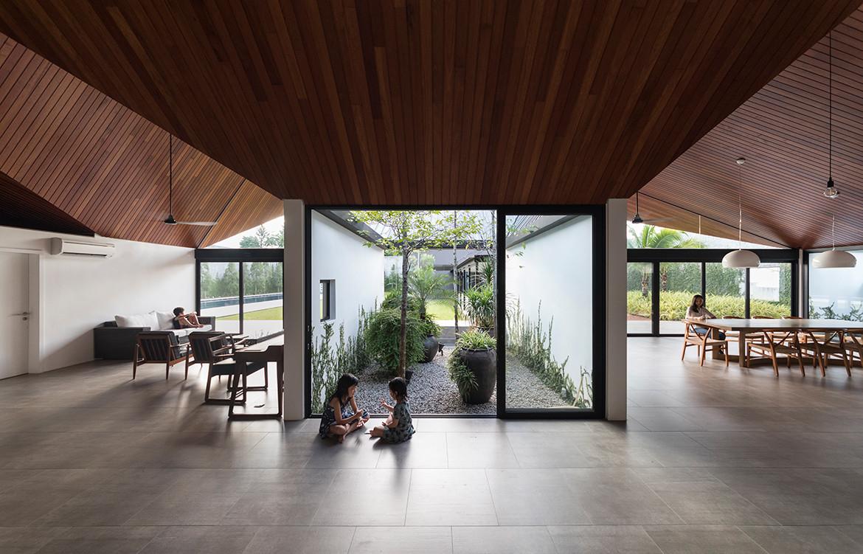 Cloister House Formwerkz CC Fabian Ong open plan