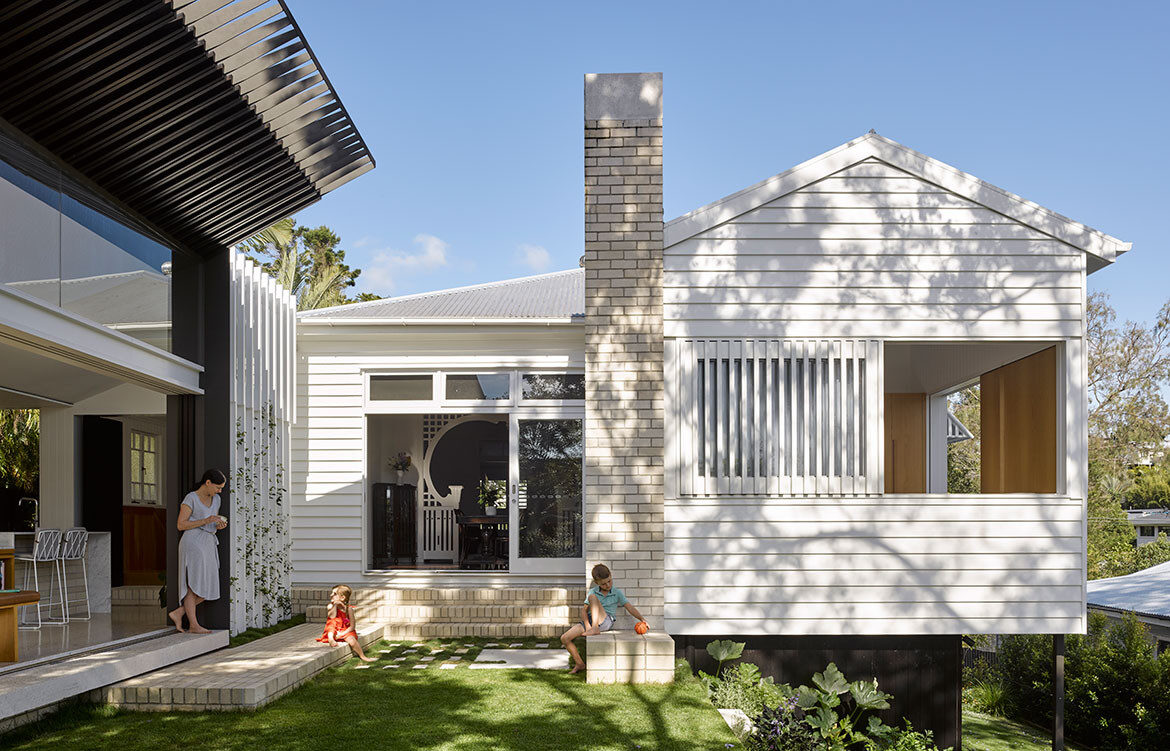 Jacaranda House Ashgrovian Queenslander SP Studio CC Christopher Frederick Jones