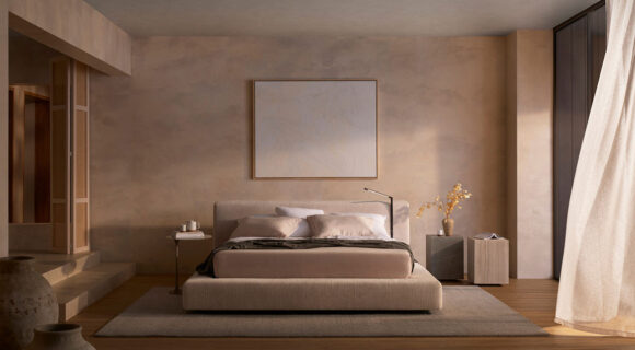 The Jasper Bed – Sleek Grandeur Meets Smart Design